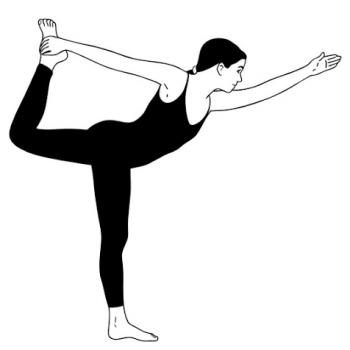 natarajasana  yogapediait